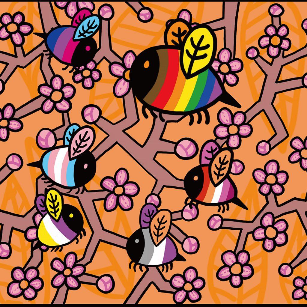 Single_Artwork 04-The Sweet Buzz of Community